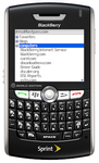 LastPass for BlackBerry Screenshot