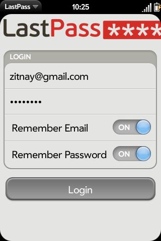 LastPass Screenshot 0