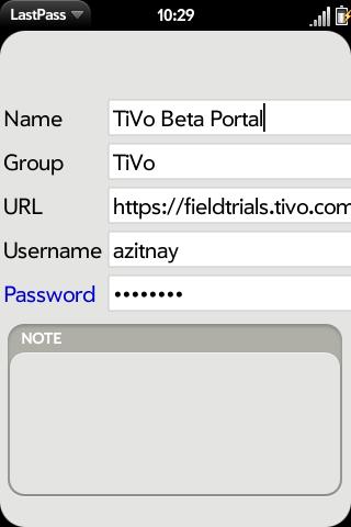 LastPass Screenshot 2